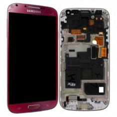 Display Samsung S4 mini i9190 i9192 i9195 Rosu La fleur touchscreen lcd rama - Display LCD