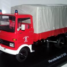 SCHUCO Mercedes LP 608 pompieri prelata serie lim 1,000buc 1:43