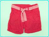 FRUMOSI→ Pantaloni scurti, talie reglabila, bumbac, H&M→ fete | 7—8 ani | 128 cm