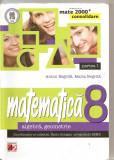 (C5904) MATEMATICA. ALGEBRA, GEOMETRIE DE ANTON NEGRILA, CLASA A 8-A, PARTEA I, Alta editura