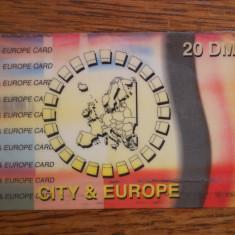 Cartela telefon Germania 3870/1
