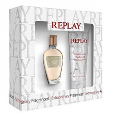 Replay Jeans Original! For Her Set 20+100 pentru femei - Set parfum