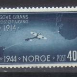 NORVEGIA 1944, Aviatie, serie neuzata, MNH