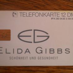 Cartela telefon Germania 3874/5 - Cartela telefonica straina