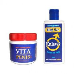 Vita Penis capsule si crema de marire a penisului