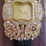 Vand ceas - Ceas dama, Elegant, Piele, Analog