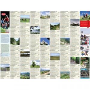 Schubert & Franzke Harta de cicloturism 100 de excursii in jurul Clujului MB01