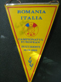 Romania - Italia 16 aprilie 1983 Campionatul European / fanion