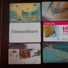 Cartele telefon Germania 4044/5 6 buc