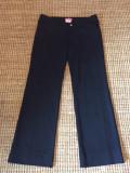 Pantaloni dama office Versace, originali, Lungi, Negru, 44