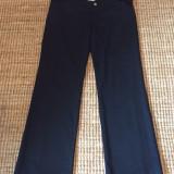 Pantaloni dama office Versace, originali, Marime: 44, Culoare: Negru, Lungi