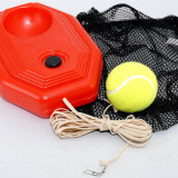 Set de antrenament pentru tenis - minge cu elastic - Minge tenis de camp