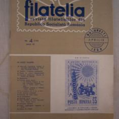 RWX 04 - FILATELIA - REVISTA FILATELISTILOR DIN RSR - NUMARUL 4 - APRILIE 1966