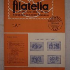 RWX 04 - FILATELIA - REVISTA FILATELISTILOR DIN RSR - NUMARUL 2 - FEBRUARIE 1966