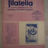 FILATELIA - REVISTA FILATELISTILOR DIN RSR - NUMARUL 5 - MAI 1966