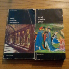 ARTA OCCIDENTULUI *  2 vol. - Henri Focillon - 1974