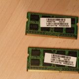 RAM Kit Dual Channel DDR3 4GB (2X2GB) Samsung 1066Mhz (laptop)