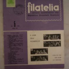 RWX 04 - FILATELIA - REVISTA FILATELISTILOR DIN RSR - NUMARUL 6 - IUNIE 1968