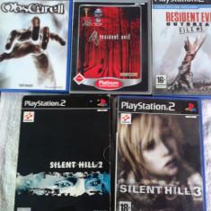 VAND JOCURI DE COLECTIE, PS2, playstation 2, seria HORROR, pret la pachet 5 bucati - Jocuri PS2 Activision, Actiune, 18+, Multiplayer