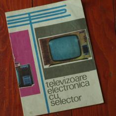 pliant - Televizoare Electronica cu selector - instructiuni reglare amplasare !