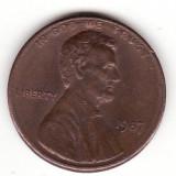 U.S.A. 1 cent 1987, America de Nord