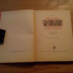 TANZE DER VOLKER DER SOWJETUNION - Igor Moissejew - 1951, 82 p.