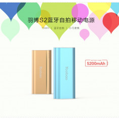 Baterie Externa + Selfie Apple Samsung HTC LG SONY Huawei 5200mAh Silver Yoobao