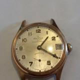 CEAS DE DAMA ELVETIAN KOLSTER - Ceas dama, Mecanic-Manual, Placat cu aur, Calendar perpetuu, Analog, 1970 - 1999