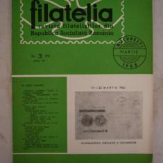 RWX 04 - FILATELIA - REVISTA FILATELISTILOR DIN RSR - NUMARUL 3 - MARTIE 1966