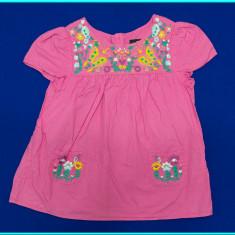 DE FIRMA _ Bluza FRUMOASA, panza bumbac, broderie H&M _ fetite | 3 - 4 ani | 104, Marime: Alta, Culoare: Roz, Fete