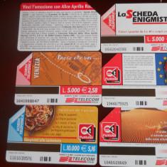 Cartele telefon Italia 4372/3 - Cartela telefonica straina