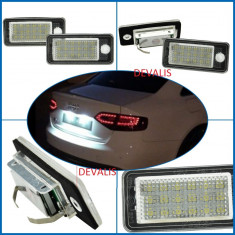 Lampa numar dedicata LED Audi Q7, A3, A4 (B6, B7 ) , A6 4F, A8 4E, RS4, RS6, S6