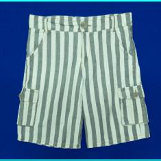FRUMOSI _ Pantaloni scurti, bumbac, talie reglabila _ baieti | 5 - 6 ani | 116, Marime: Alta, Culoare: Gri