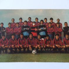 FOTO STEAUA BUCURESTI ANII 80 - Fanion fotbal