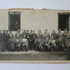 FOTOGRAFIE MILITARI ROMANI CAROL I - Fotografie veche