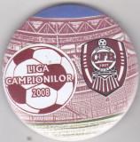 Insigna CFR Cluj  Liga Campionilor 2008
