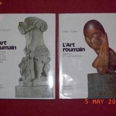 ARTA ROMANEASCA - VASILE DRAGUT, VASILE FLOREA (2 vol) - Album Arta