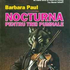Barbara Paul - Nocturna pentru trei pumnale (4) - 29679 - Roman, Anul publicarii: 1997