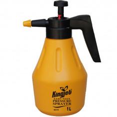 Pulverizator de mana cu presiune Kingjet 1 litru galben Pompa de stropit, De spate, 1.1-4, 1.1-3