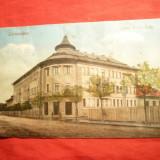 Ilustrata Caransebes - Liceul Traian Dodu - Ed.Cartea Banatului 1926 - Carte Postala Banat dupa 1918, Circulata, Printata