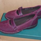 Pantofi femei piele Clarks Artisan Tona Reach - NOI din SUA - Pantof dama Clarks, Culoare: Din imagine, Marime: 36.5, Piele naturala