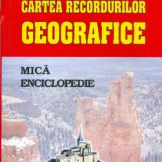 Silviu Negut - Cartea recordurilor geografice. Mica enciclopedie - 29687 - Atlas