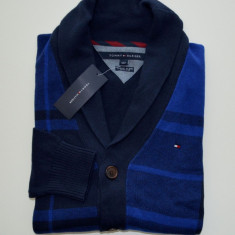 Cardigan / Jerseu original Tommy Hilfiger - barbati S -100% AUTENTIC