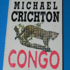 MICHAEL CRICHTON - CONGO science fiction (02997 - Carte SF
