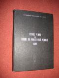 Codul penal si codul de procedura penala 1986