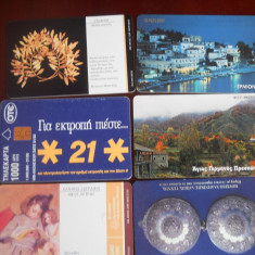 Cartele telefon Grecia 4321/2 - Cartela telefonica straina