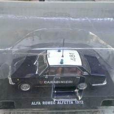 Macheta metal 1/43 - Alfa Romeo Alfetta 1972 - Carabinieri - Noua, Sigilata - Macheta auto