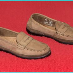 DE FIRMA _ Mocasini / pantofi dama, piele, calitate TIMBERLAND _ femei | nr. 36 - Mocasini dama Timberland, Culoare: Maro, Piele naturala