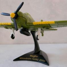 MACHETA AVION DE VANATOARE JAPONEZ, TEMUTUL ZERO DIN AL DOILEA RAZBOI MONDIAL - Macheta Aeromodel Maisto