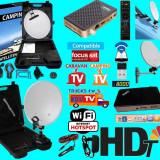 Antena Rulota/Camping cu wifi si iptv